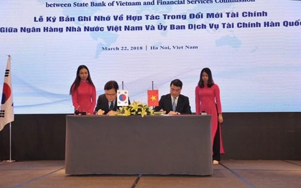 Vietnam, RoK tighten financial cooperation hinh anh 1