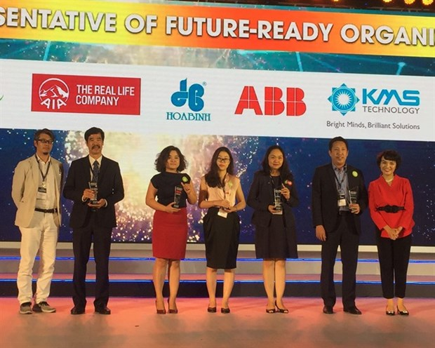 Vietnam's best workplaces in 2017 announced hinh anh 1