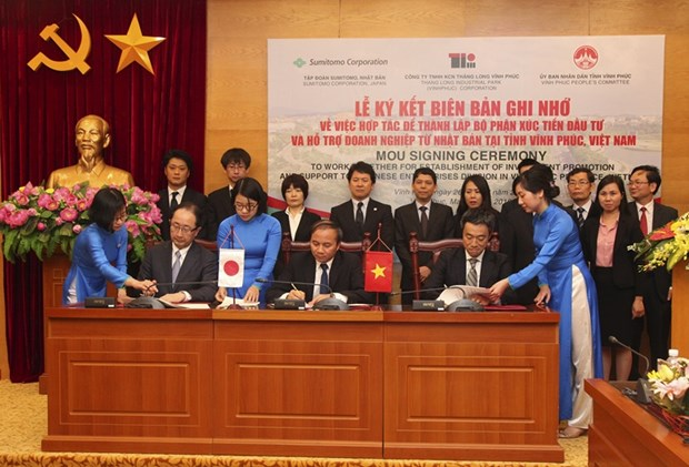 Agency to promote Japanese firms' investment in Vinh Phuc hinh anh 1