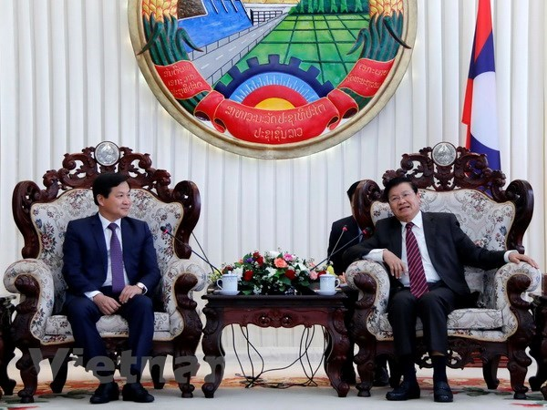 Lao PM calls for Vietnam-Laos stronger inspection bond hinh anh 1