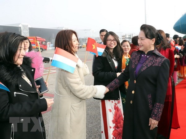NA Chairwoman begins official visit to Netherlands hinh anh 1