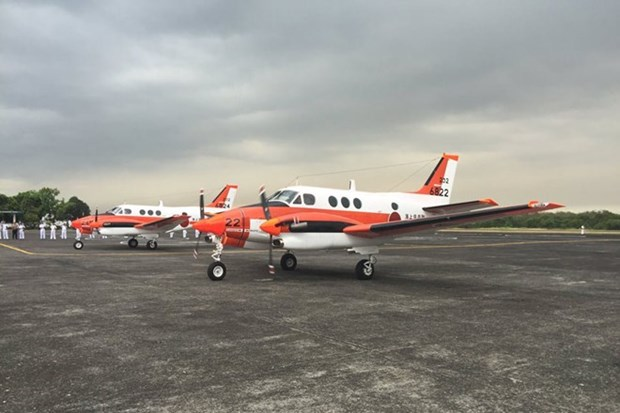 Philippines receives used surveillance aircraft from Japan hinh anh 1