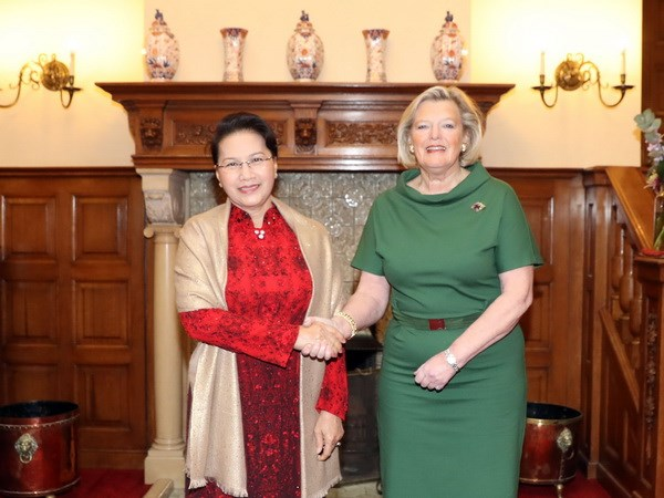 NA leader expects stronger Vietnam-Netherlands relations hinh anh 1