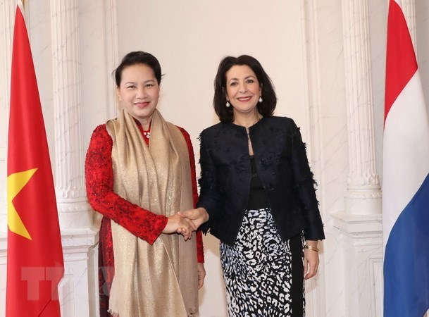 Vietnam's top legislator holds talks with speaker of Dutch lower house hinh anh 1