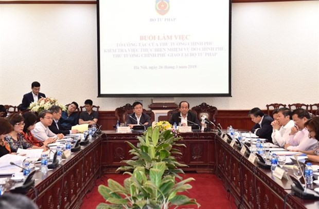 Justice Ministry urged to cut, clarify regulations hinh anh 1