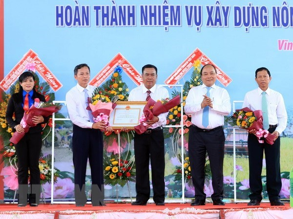 Vinh Long's Binh Minh town recognised as new-style rural area hinh anh 1