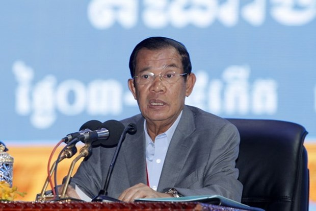 Cambodian PM reiterates no talks with ex-opposition leader hinh anh 1