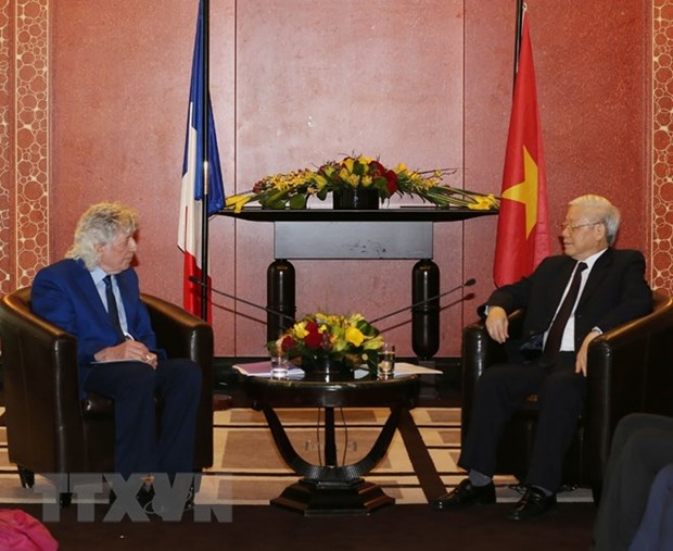 Friendship association works for thriving Vietnam-France ties hinh anh 1