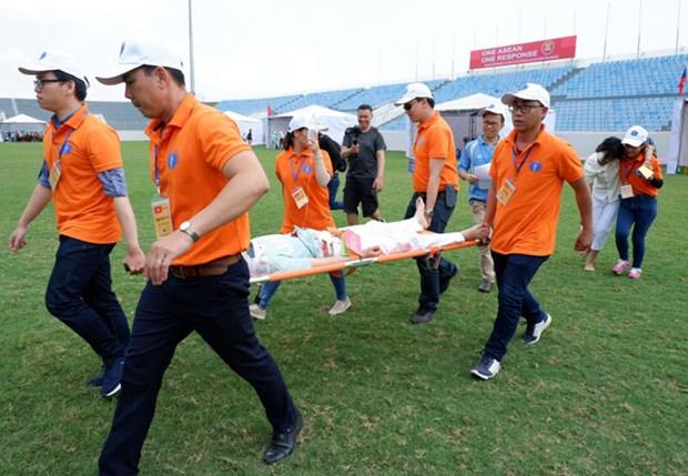 ASEAN, Japan medical teams join disaster response drill hinh anh 1