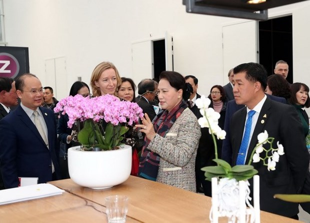 NA Chairwoman visits World Horti Centre in the Netherlands hinh anh 1