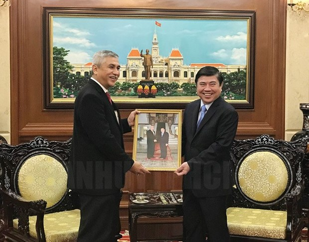 HCM City leader receives Indonesian Consul General hinh anh 1