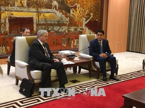 Belarus to invest in Hanoi bus system hinh anh 1