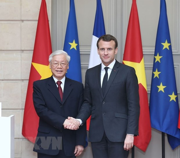 Vietnam, France issue joint statement hinh anh 1