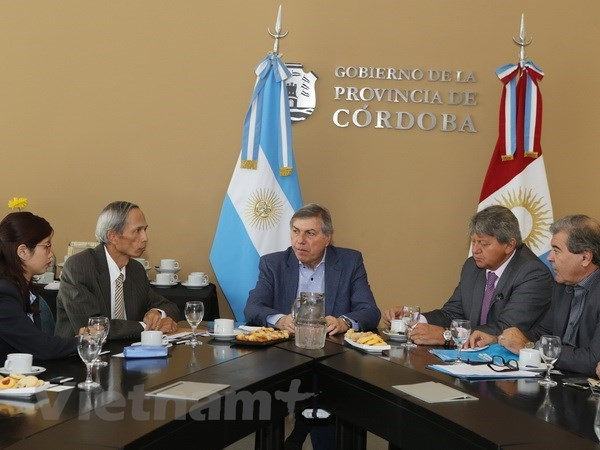Vietnam promotes cooperative ties with Argentinean locality hinh anh 1
