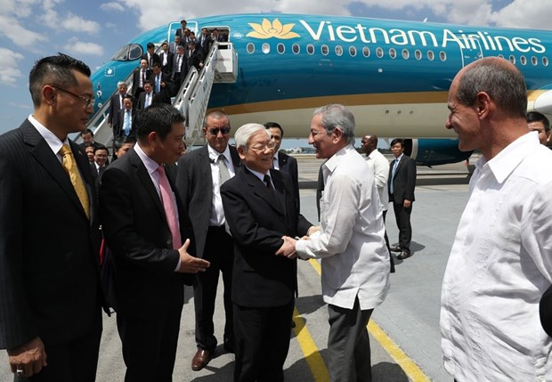 Vietnam, Cuba look to boost economic relations to new height hinh anh 1