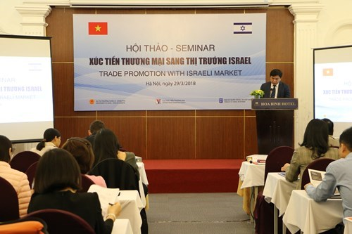 Seminar updates trade opportunities in Israel hinh anh 1