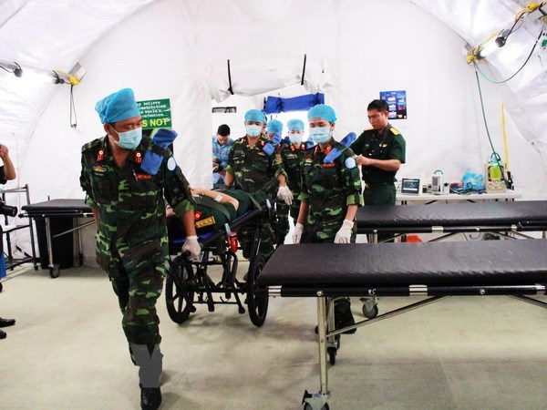 Vietnam fulfills preparations for field hospital in South Sudan hinh anh 1