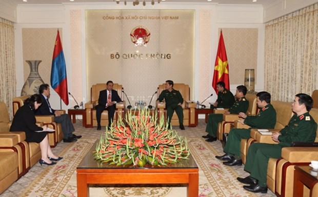 Vietnam, Mongolia to make defence ties meet potential hinh anh 1