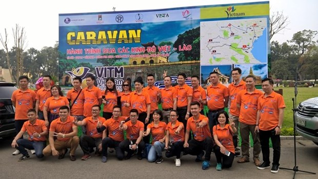 Caravan tour expected to promote Vietnam-Laos tourism hinh anh 1