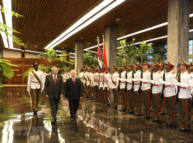 Cuban official highlights significance of CPV leader's visit hinh anh 1