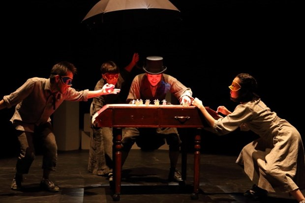 Japanese, Vietnamese mimes come to Hanoi hinh anh 1