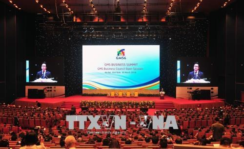 First-ever GMS Business Summit opens in Hanoi hinh anh 1