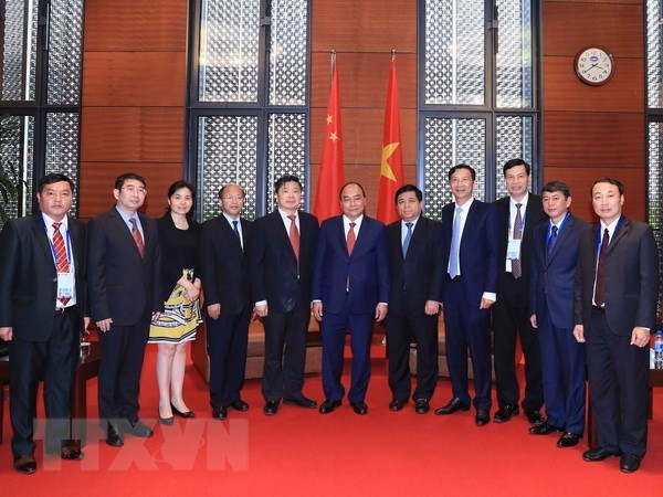 PM: Vietnam wants to foster cooperation with Chinese localities hinh anh 1