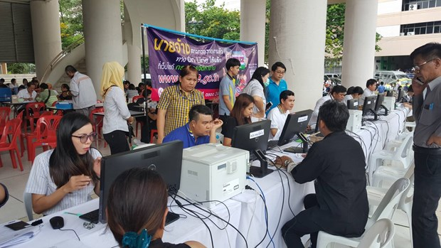 Thailand to close all OSS centres for migrant worker registration hinh anh 1