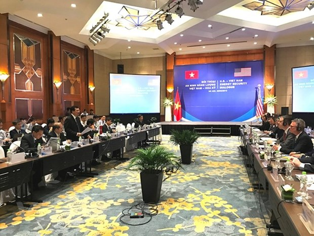 Vietnam, US launch first energy security dialogue hinh anh 1