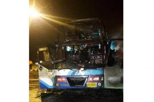 Thailand: 20 Myanmar migrants killed in bus fire hinh anh 1