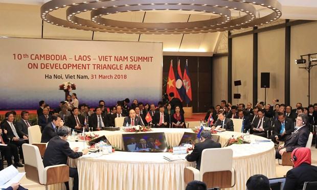 10th CLV Development Triangle Area Summit held in Hanoi hinh anh 1