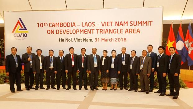 10th CLV Development Triangle Area Summit held in Hanoi hinh anh 2