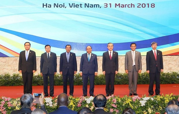 GMS leaders reaffirm commitment to enhancing economic cooperation hinh anh 1