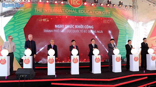 Work starts on first int'l education city in Vietnam hinh anh 1