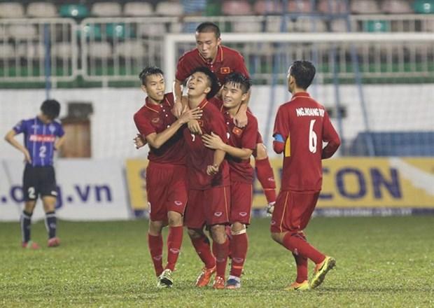 Vietnam win International U-19 Football Tournament hinh anh 1