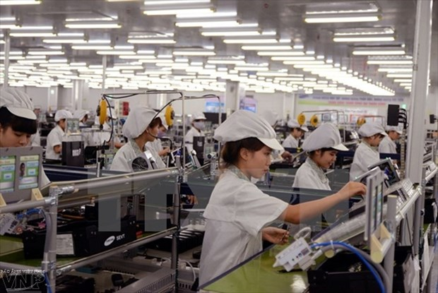National industrial production index hits 11.6 percent hinh anh 1