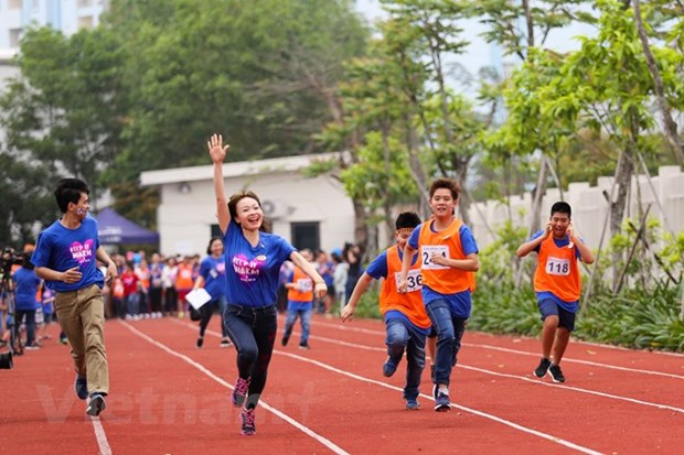 Sport festival raises public awareness of autism hinh anh 1
