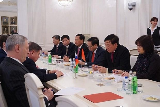 Vietnam, Russia boost judicial ties hinh anh 1