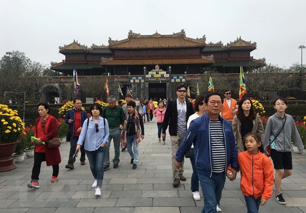 Thua Thien-Hue welcomes more than 1 million visitors in Q1 hinh anh 1