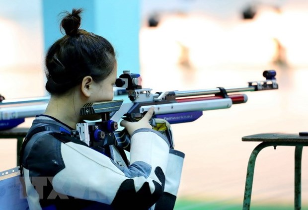 Vietnam shooting team aim for medals at ASIAD 2018 hinh anh 1