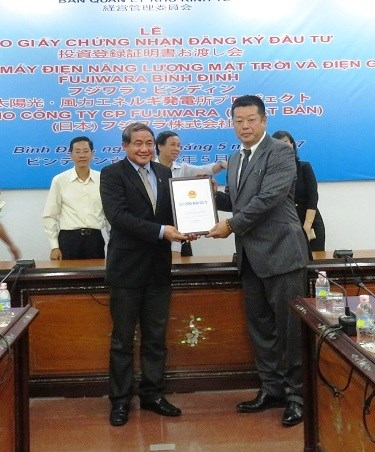 100MW wind-solar power project underway in Binh Dinh hinh anh 1