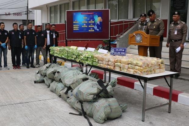 Thailand busts major drug trafficking ring hinh anh 1