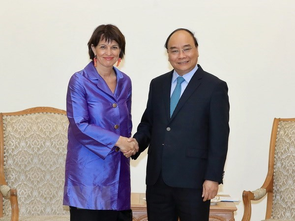 Vietnam keen on bolstering all-round partnership with Switzerland: PM hinh anh 1