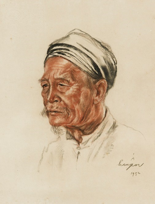 Vietnamese painter's artworks auctioned at Sotheby's Hong Kong hinh anh 1