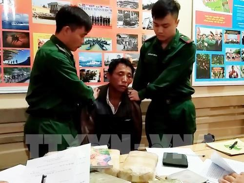 18,000 synthetic drug pills seized in Son La hinh anh 1