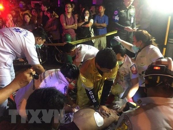 Vietnamese victims of Thailand's apartment fire discharged from hospital hinh anh 1