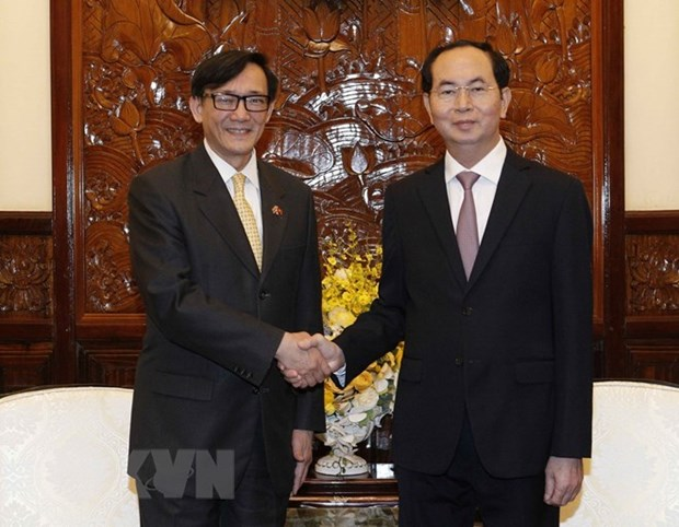President encourages Thai businesses to expand investment hinh anh 1