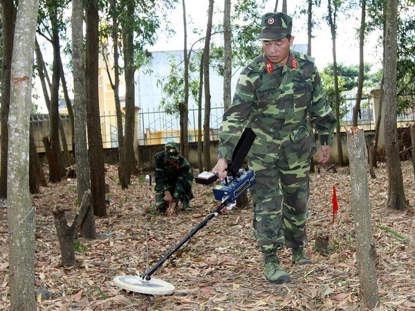 Foreign-funded projects help Quang Tri deal with unexploded ordnance hinh anh 1