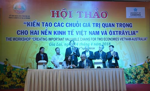 Vietnam, Australia look to jointly create valuable chains hinh anh 1