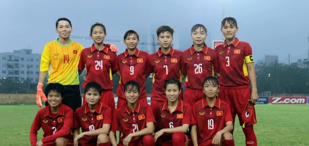 AFC lauds Vietnam's female football squad hinh anh 1